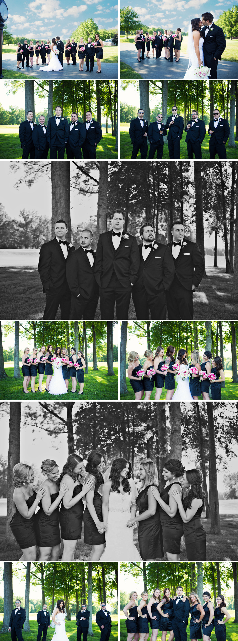 This bridal party, though...so much fun!