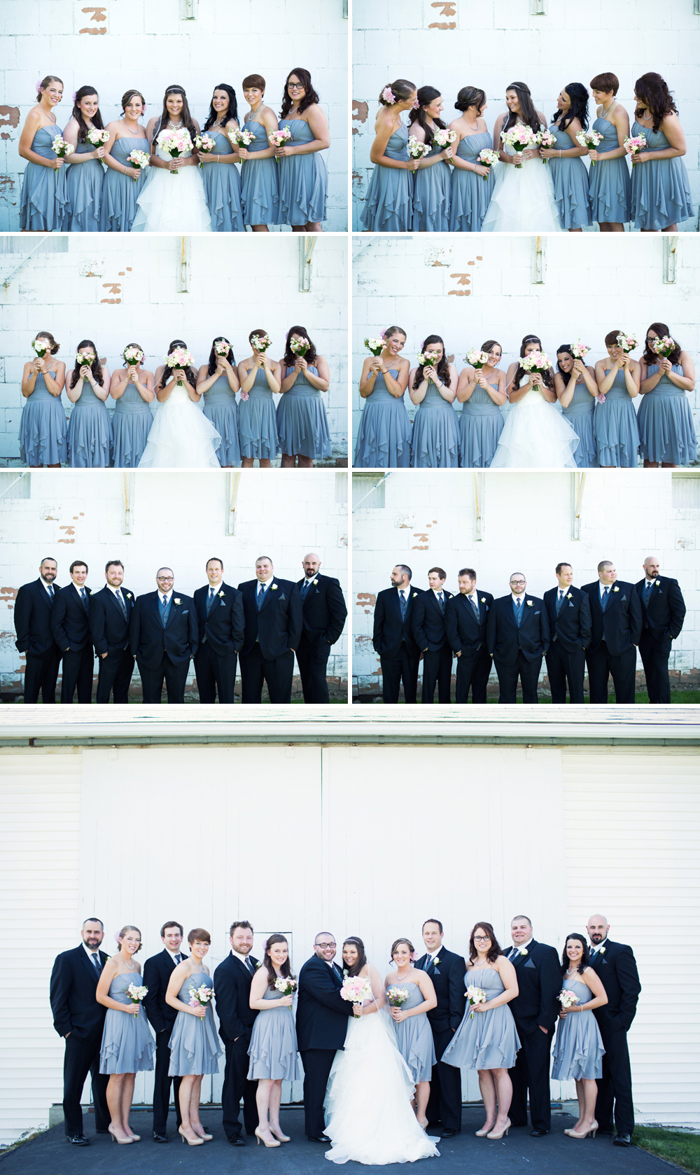 Some fun with the bridal party!